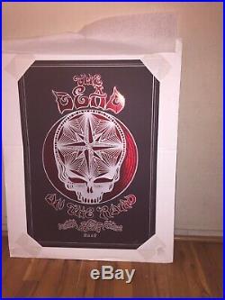 Grateful Dead Emek Print 2009 On The Road # 6/200 Very Rare