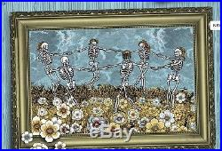 Grateful Dead Emek poster Chicago Fare Thee Well VIP