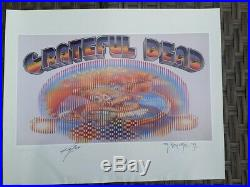 Grateful Dead Europe 72 Poster S & N By Mouse & Kelley Dead & Company Poster