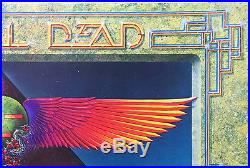 Grateful Dead European Tour 1978 Rainbow Theater Egypt Concert Poster