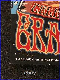Grateful Dead FARE THEE WELL posters Chicago Soldier Field Mike DuBois Foil