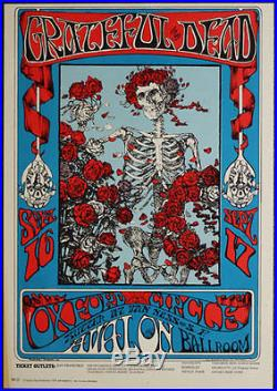 Grateful Dead FD 26-3 Family Dog Oxford Circle by Artist Mouse! RARE, no Emek
