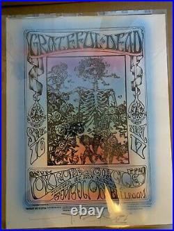 Grateful Dead FD26 Poster mint Stanley Mouse hand colored BG aor