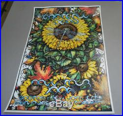 Grateful Dead Fall 1995 tour poster