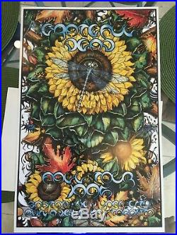 Grateful Dead Fall Tour 1995 Poster MINT Perfect Uncirculated
