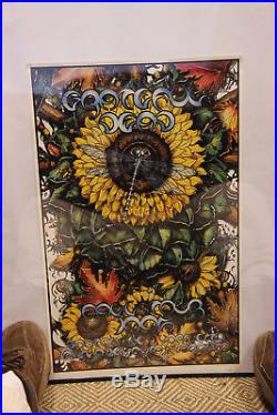 Grateful Dead Fall Tour 1995 Poster NUMBERED edition artist- Michael Everett