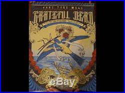 Grateful Dead Fare The Well VIP GD 50 Print Justin Helton