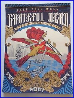 Grateful Dead Fare Thee Well 50th VIP Limited 3 Poster SET Justin Helton