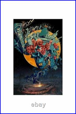 Grateful Dead Fare Thee Well Android Jones Print Poster GD50 Soldier Field Art