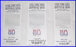 Grateful Dead Fare Thee Well Framed Poster (LIMITED EDITION SIGNED BY EMEK)