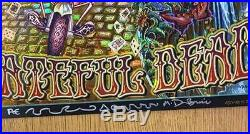 Grateful Dead Fare Thee Well Gd50 2015 Dubois Concert Poster Foil Ae Ftw