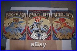 Grateful Dead Fare Thee Well Justin Helton Limited Edition VIP Poster set