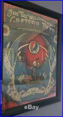 Grateful Dead Fare Thee Well Justin Helton Poster