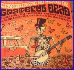 Grateful Dead Fare Thee Well Justin Helton VW VIP Poster Set GD50 Company Print