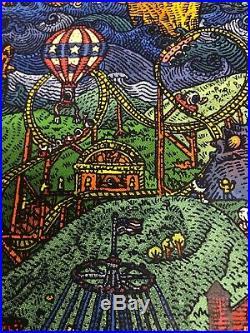 Grateful Dead Fare Thee Well Poster 2015 David Welker Printers Proof