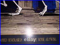 Grateful Dead Fare Thee Well Stanley Mouse Rare Signed Doodled Poster Print