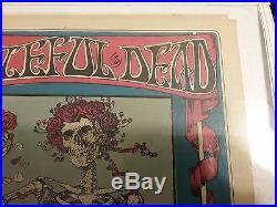Grateful Dead Fd 26 (2) Skull & Roses Impecible Nmnt Pinhole Ea Crnr 1 Top Htf