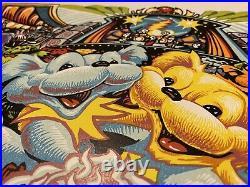 Grateful Dead Forever Grateful Poster Print 2017 Official S/N AJ Masthay Linocut