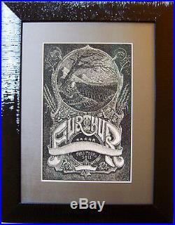 Grateful Dead Furthur Fall 2011 Original Poster Artwork by David Welker. Mint