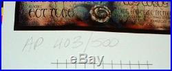 Grateful Dead Furthur Festival 1996 Signed #rd Artist Proof Michael Everett