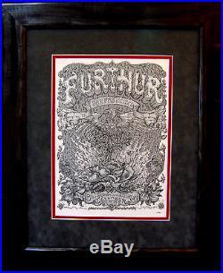 Grateful Dead Furthur NYE 2012 Original Poster Artwork by David Welker. Mint