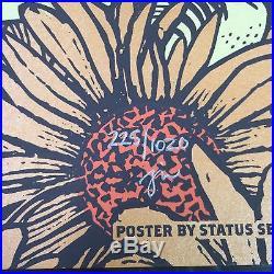 Grateful Dead GD50 Fare Thee Well Justin Helton VW Santa Clara VIP Poster Set