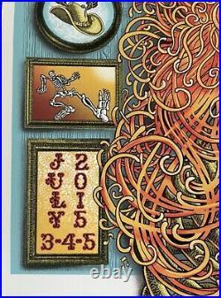 Grateful Dead GD50 Limited Signed/Numbered VIP Concert Poster by EMEK