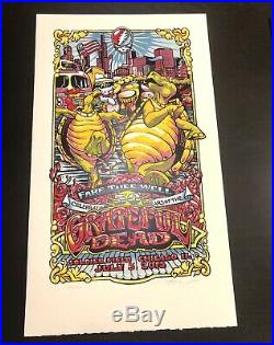 Grateful Dead (GD50) Set Of 3 AJ Masthay Fare Thee Well Chicago July 2015 Trey