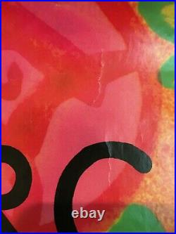 Grateful Dead Garcia Compliments LP large promo poster 1974 Original 23x48