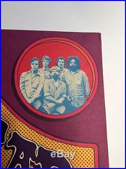 Grateful Dead Gary Grimshaw Poster first print Dec. 1971 RARE beautiful Pigpen
