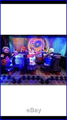 Grateful Dead Gift 80s Stage Custom Built Of LEGO NOT a Shirt Pin Poster