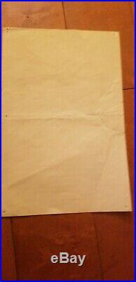 Grateful Dead Handbill 10-23-1970 Georgetown University