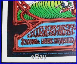 Grateful Dead Hawaiian Aoxomoxoa Poster Rick Griffin 2nd Printing AOR 3.116 RP-2