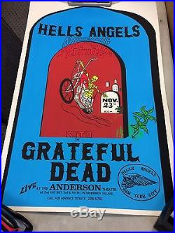 Grateful Dead Hells Angels Awakening Reproduction Concert Poster