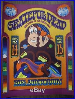 Grateful Dead Hill Auditorium 1971 Grimshaw NM poster