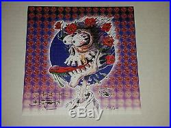Grateful Dead I Need A New Brain 04 Stanley Mouse 1st Print Poster Blotter Art