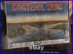 Grateful Dead In Concert'81 Mike Scheller West Germany Frankfurt 1981 ORIGINAL