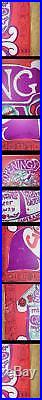 Grateful Dead Janis Joplin Straight Theater 1967 Concert Poster Orig Fillmore