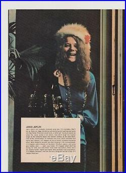 Grateful Dead Janis Joplin The Band Festival Express Concert Program Original