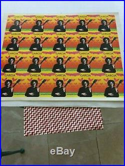 Grateful Dead Jerry Garcia Album Proof Sheet from the 1970's
