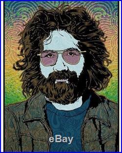 Grateful Dead Jerry Garcia Chuck Sperry Orpheus LE s/#'d Poster SOLD OUT