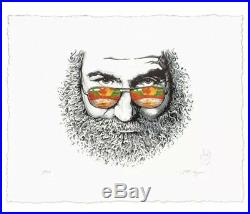Grateful Dead Jerry Garcia Palm Sunday Print by AJ Masthay Signed /500 SOLD OUT