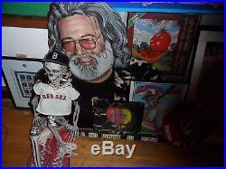 Grateful Dead Jerry Garcia Portrait Original Art