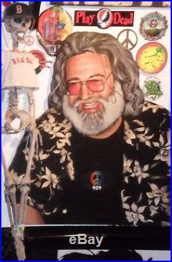 Grateful Dead Jerry Garcia Portrait original
