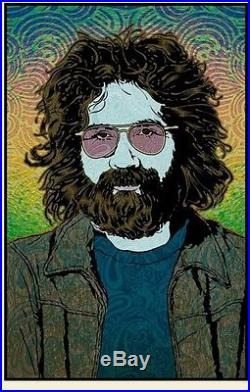 Grateful Dead Jerry Garcia Spring Chuck Sperry Poster Print Signed Numbered Art