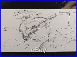 Grateful Dead Jerry Garcia Stanley Mouse Giclee Print COA Signed & Numbered #2
