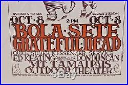 Grateful Dead, Joan Baez Mount Tamalpais 1966 Poster Stanley Mouse 1372