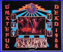 Grateful Dead, John Werner, Year of Dragon Poster 1988