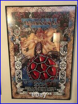 Grateful Dead Limited Edition Poster 25000 1995 Summer Tour