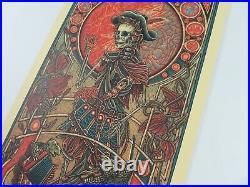 Grateful Dead Luke Martin Jack Straw Dancing Bears Art Print Jerry Garcia Poster